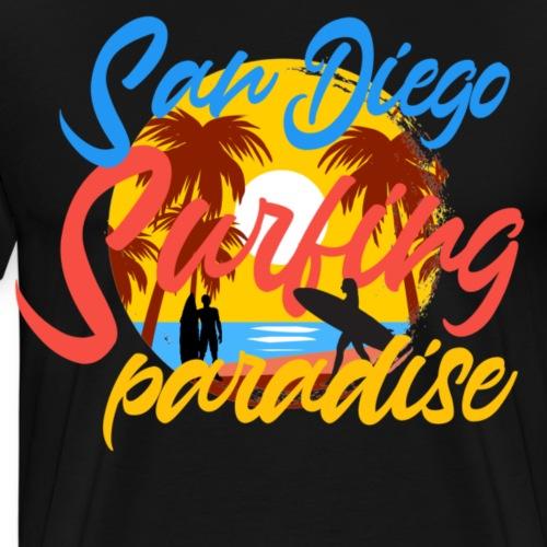 San Diego - Mannen Premium T-shirt