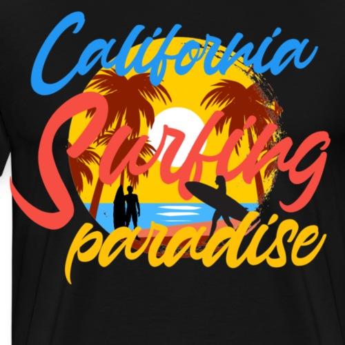 California - Mannen Premium T-shirt