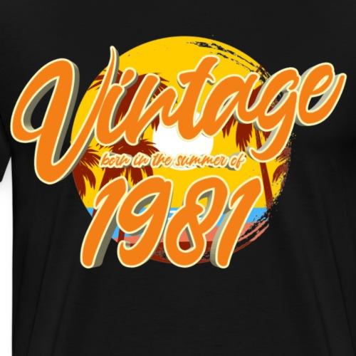 1981 - Mannen Premium T-shirt