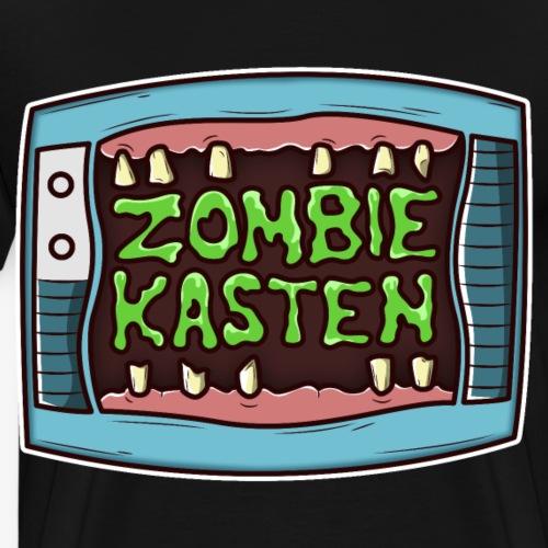 Zombie Kasten TV - Männer Premium T-Shirt