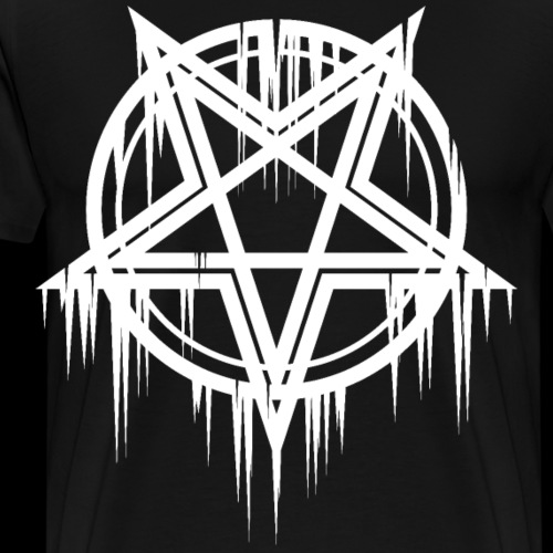 Satanic Pentacle - Men's Premium T-Shirt