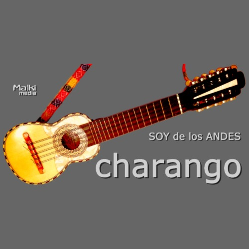 De los ANDES - Charango II - Camiseta premium hombre