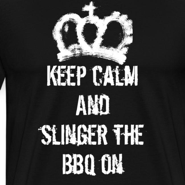 Keep calm bbq