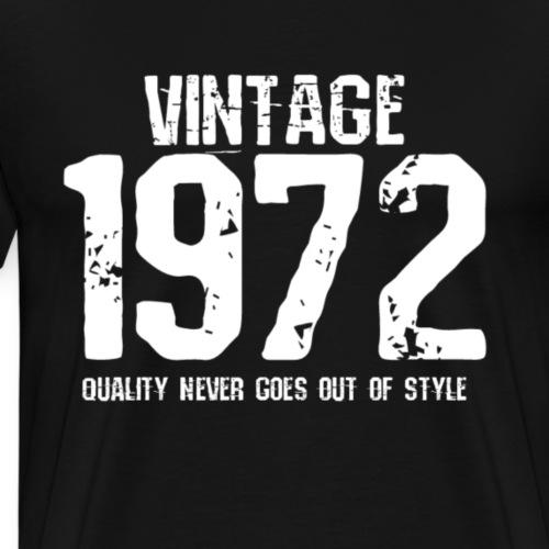 1972 - Mannen Premium T-shirt