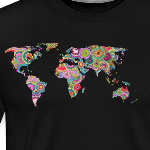 Hipsters' world - Men's Premium T-Shirt