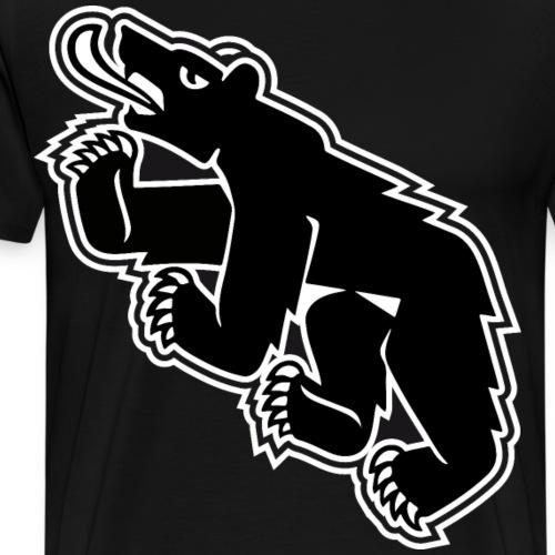 Berncity Bear 02 - Männer Premium T-Shirt