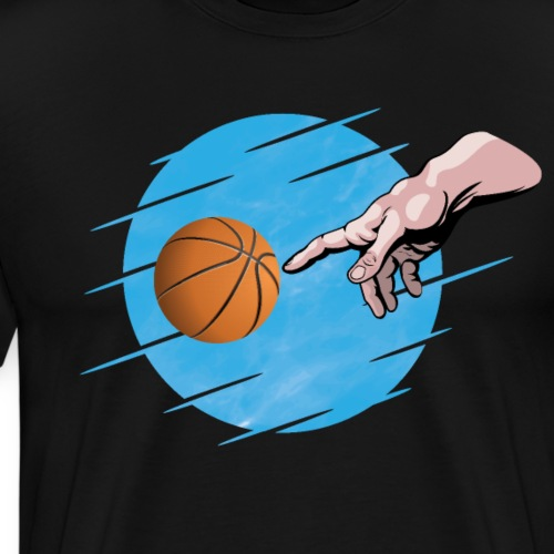 Basketball is a divine sport! - Men's Premium T-Shirt