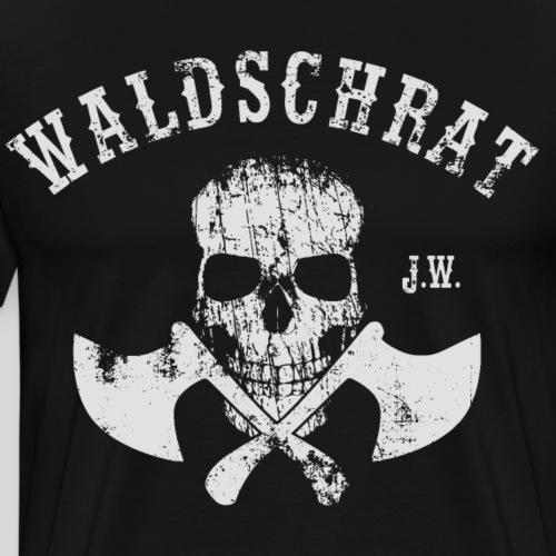 Waldschrat Skull - Männer Premium T-Shirt