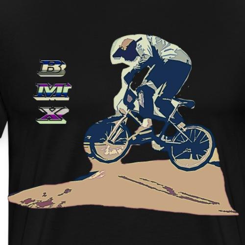 bmx old school - T-shirt Premium Homme