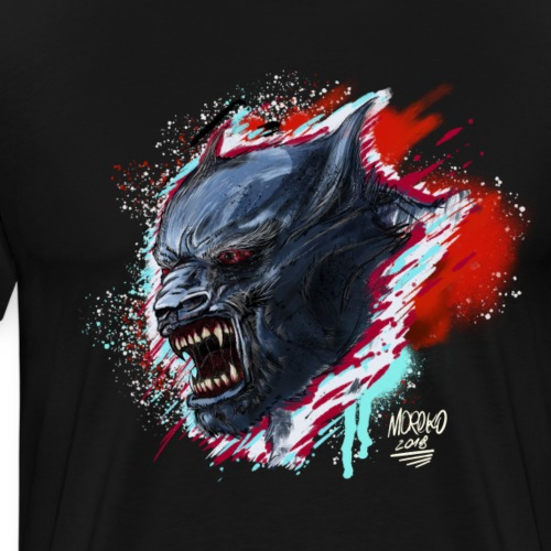 Warewolf - SPLAT - Men's Premium T-Shirt