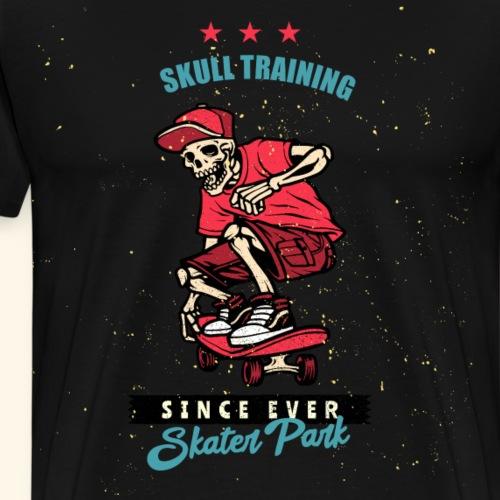 Skull Training Skater Park - Männer Premium T-Shirt