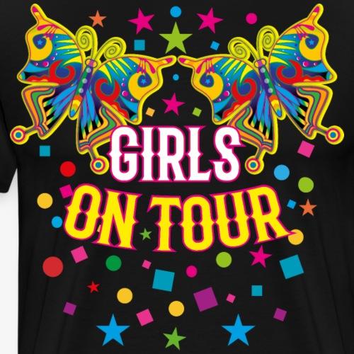 06 Schmetterlinge bunt Girls On Tour