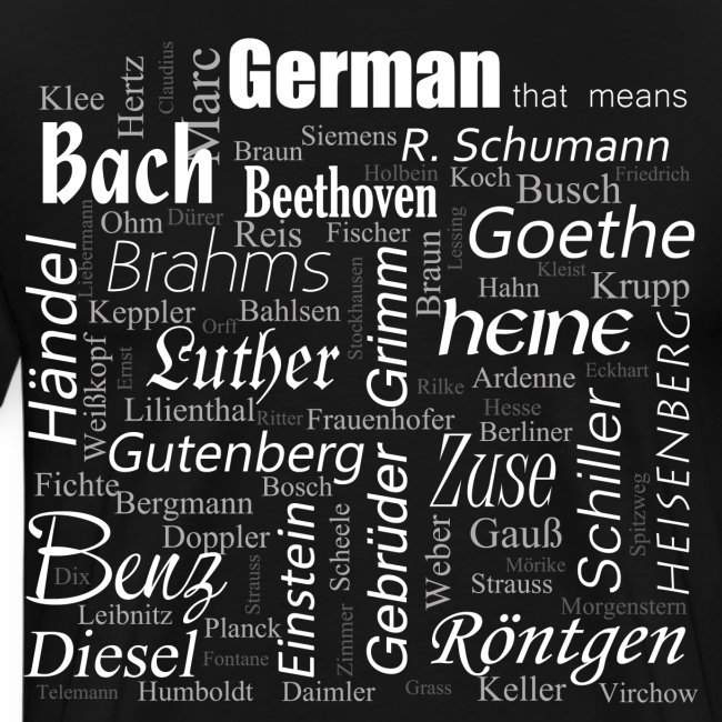 German that means