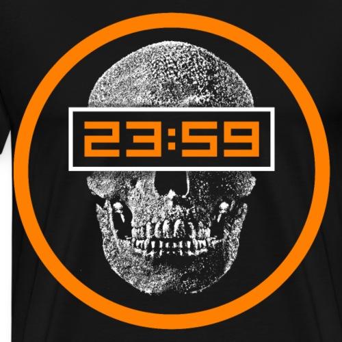 Skull 23:59 - Männer Premium T-Shirt