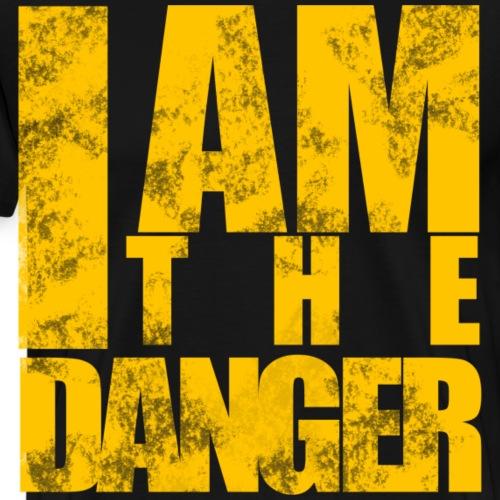 Gefahr spruch danger gefährlich cool geschenk - Männer Premium T-Shirt