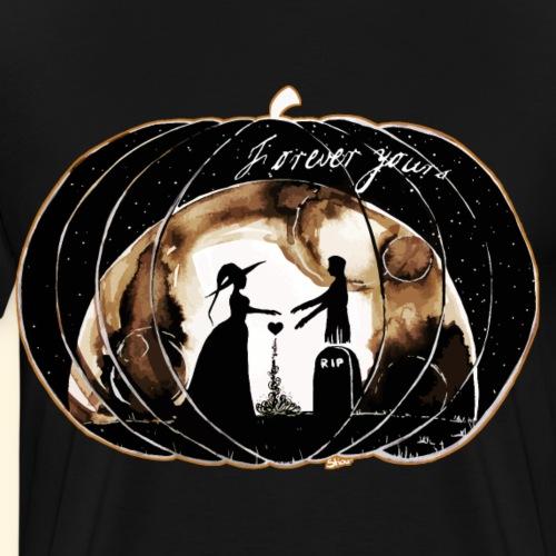 Un amour d'Halloween : Forever yours - T-shirt Premium Homme