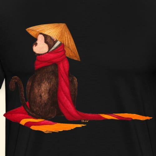 Un singe en hiver - T-shirt Premium Homme