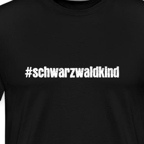 Schwarzwaldkind - Männer Premium T-Shirt