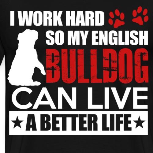 Witziges Hunde T Shirt cool lustig hund Geschenk - Männer Premium T-Shirt