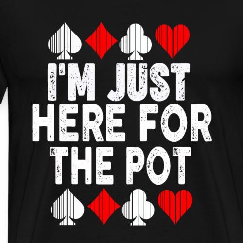 Poker,Pot,Tshirt,Glücksbringer - Männer Premium T-Shirt