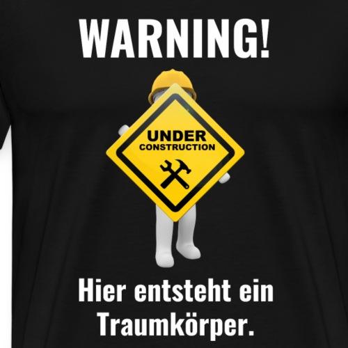 Traumkoerper Schwarzenegger Fitness Mallorca - Männer Premium T-Shirt