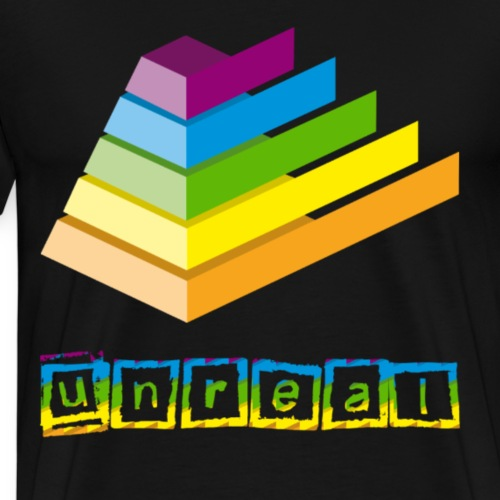 Pyramid - Mannen Premium T-shirt