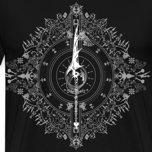 Dawn - Kingdom Hearts - Blanco - Camiseta premium hombre