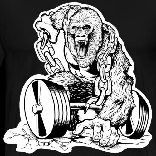 Gym Gorilla - Männer Premium T-Shirt