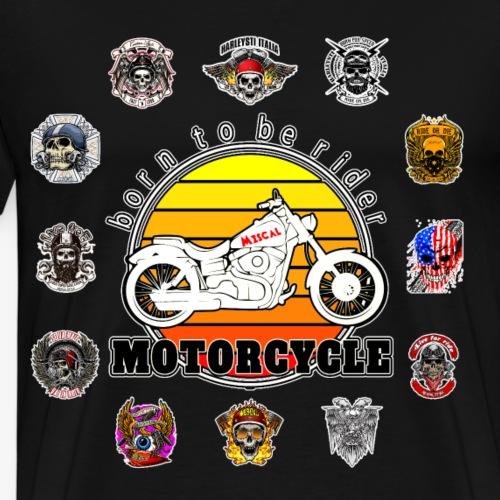 Born to be Rider - Motorcycle - Collection - Maglietta Premium da uomo