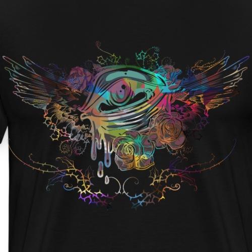 Psychedelisches Auge - Männer Premium T-Shirt