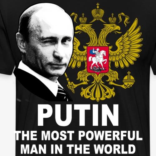 81 Putin The Most Powerful Man in the World - Männer Premium T-Shirt