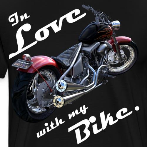 In Love with my Bike. - Männer Premium T-Shirt