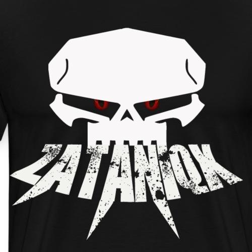 Zataniqx White - Männer Premium T-Shirt