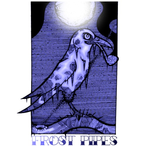 The Frost Crow - Men's Premium T-Shirt