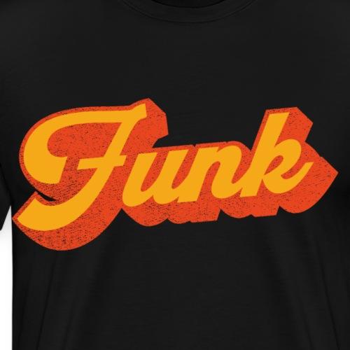 Funk Music in Gelb Orange - Männer Premium T-Shirt