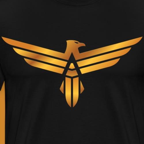 ZET RECORDS Eagle V2.5 - Männer Premium T-Shirt