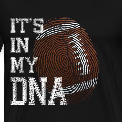 American Football It's in my DNA - Männer Premium T-Shirt