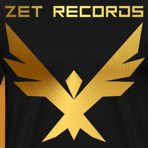ZET RECORDS EAGLE ALT - Männer Premium T-Shirt