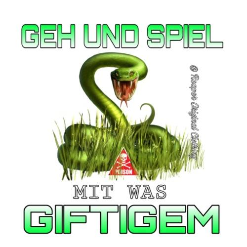 GEH UND SPIEL mit was GIFTIGEM RANDLOS DESIGN