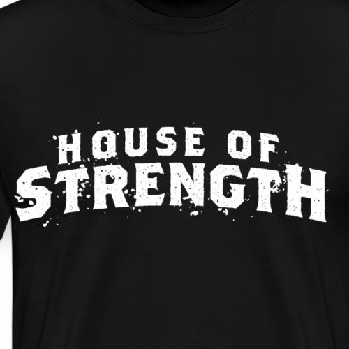 House of Strength (Original) - Men's Premium T-Shirt