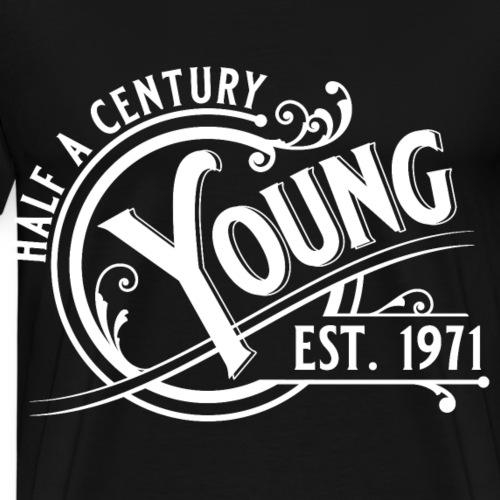 Half a century young 50. Geburtstag Vintage Gift