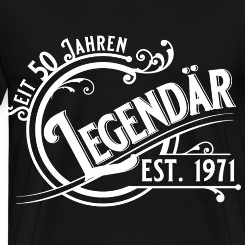 50 Jahre Legendär 50. Geburtstag Vintage Gift - Männer Premium T-Shirt