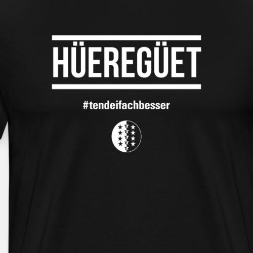 HÜEREGÜET - Männer Premium T-Shirt