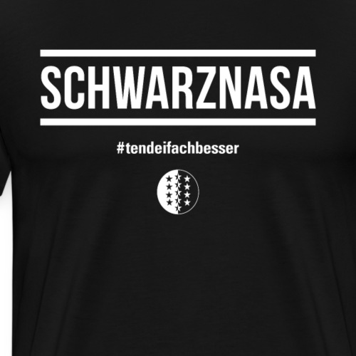 SCHWARZNASA - Männer Premium T-Shirt