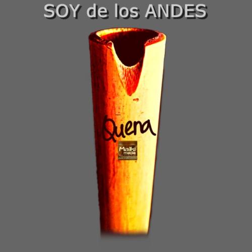 De los ANDES - Quena II - Men's Premium T-Shirt
