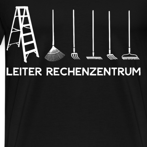 Leiter Rechenzentrum Hobbygärtner Gärtner Geschenk - Männer Premium T-Shirt
