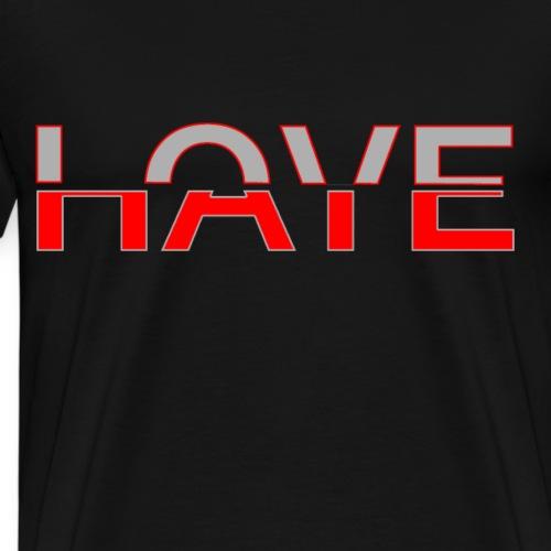 Love & Hate - Männer Premium T-Shirt