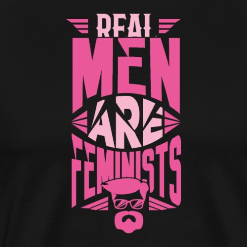 Real Men Are Feminists 07 - Männer Premium T-Shirt