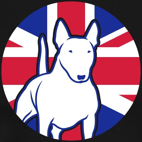Miniatur Bullterrier UK 3c - Männer Premium T-Shirt