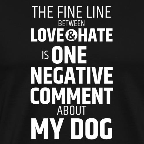 LoveHate - Men's Premium T-Shirt